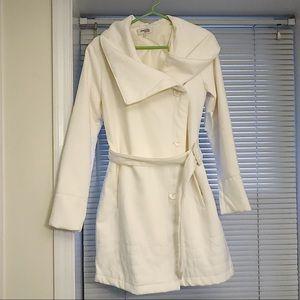 New cream pea coat!